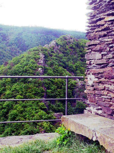 Blick von der Burg Are auf die Engelsley