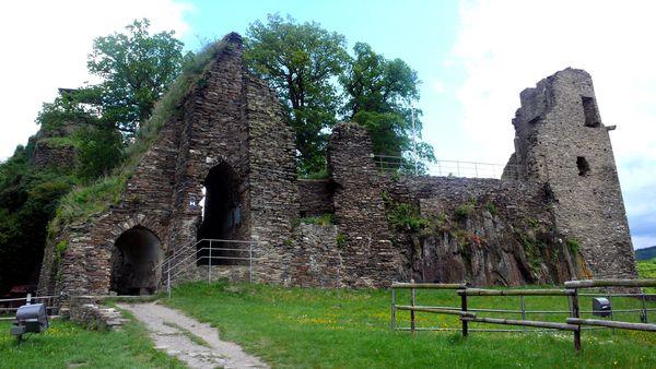 Haupthaus Burg Are