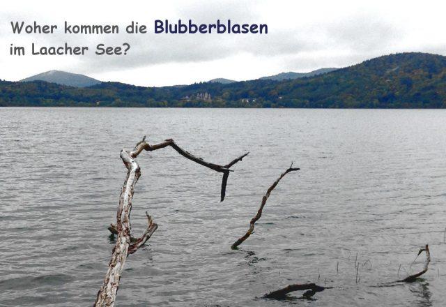 Woher kommen die Blubberblasen im Laacher See