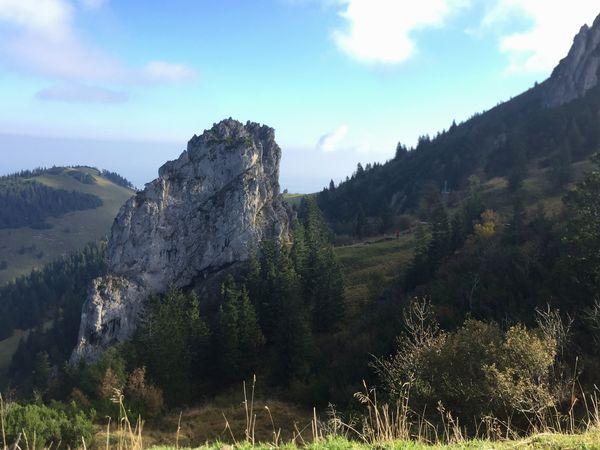 Wandern an der Kampenwand, Panoramaweg von Sonnenalm zur Steinlingalm