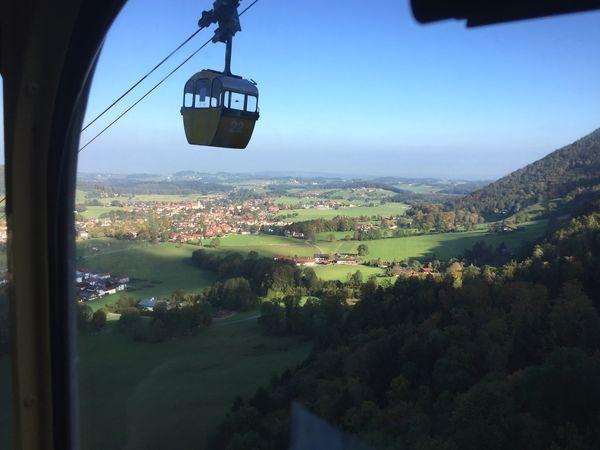 Kampenwandbahn mit Chiemgau