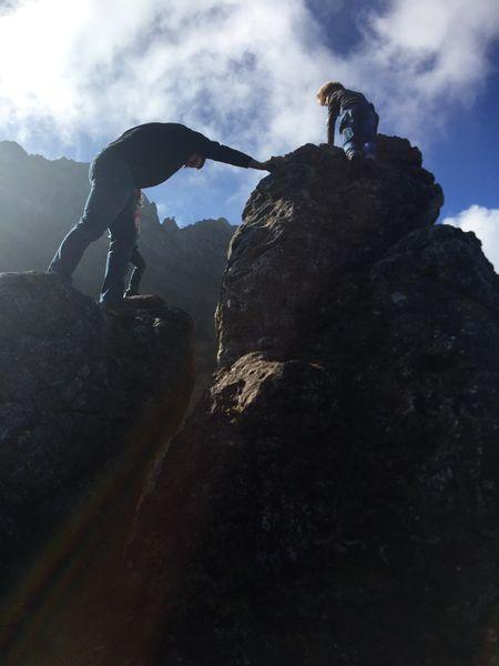 Klettern an der Steinlingalm, Wandern an der Kampenwand