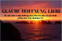 Blog Glaube Hoffnung Liebe